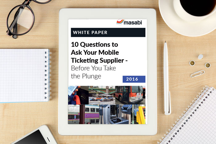Whitepaper: 10 questions to ask your mobile ticketing supplier