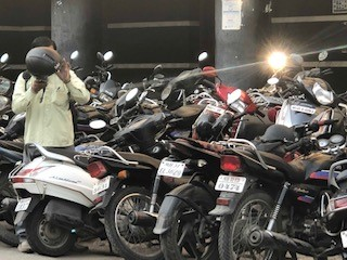 Motorbikes and scooters in Nagpur