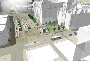 TfGM's plans for Manchester's St Peter's Square