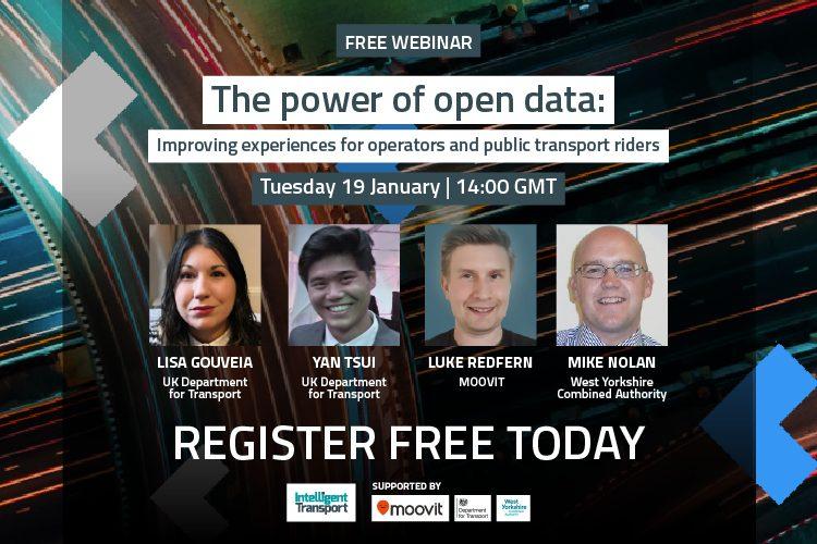 Free webinar by MOOVIT - The power of open data