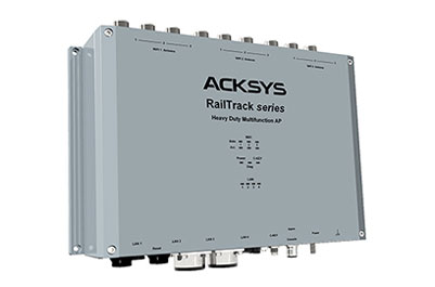 RailTrack: triple 802.11ac WiFi AP & backbone repeater for trackside