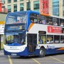 ADL Trident double deck Stagecoach bus