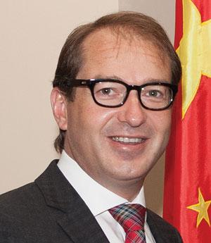 Alexander Dobrindt, German Federal Minister of Transport and Digital Infrastructure