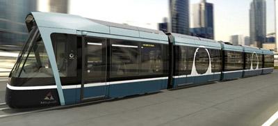 Alstom and Qatar Rail reveal Lusail tram design