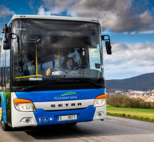 Arriva bus in Pilsen Region, Czech Republic