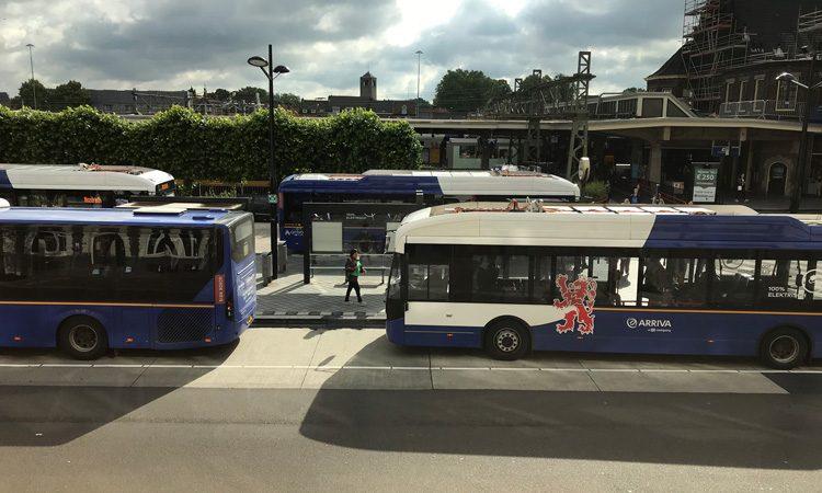 Arriva e-buses in Limburg Netherlands