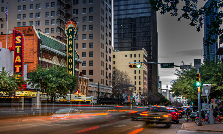 Austin, Texas where Project Connect will transform transit