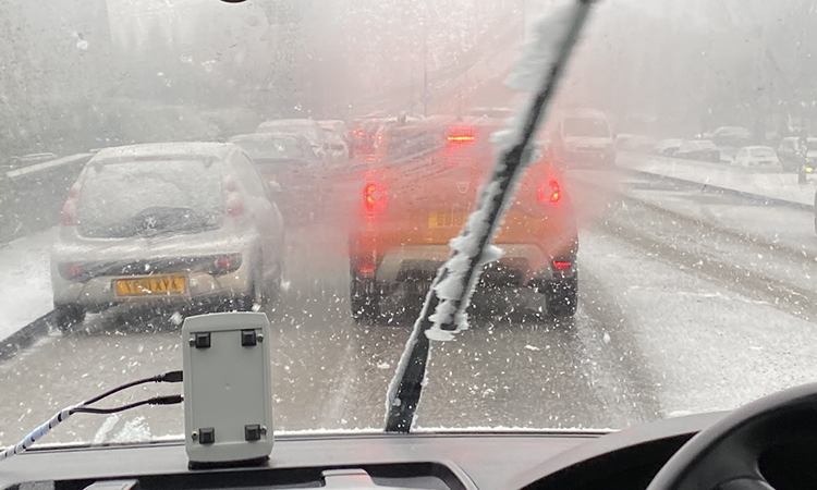 New data to support operation of autonomous vehicles adverse weather