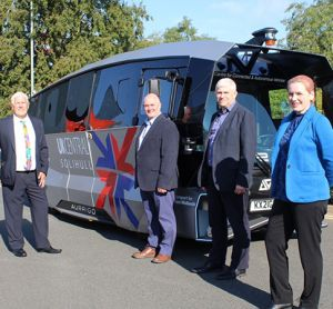Solihull Council, UK, launches trial of fully electric autonomous shuttle
