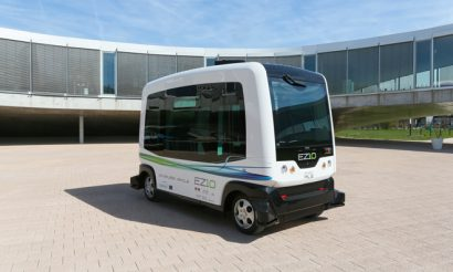 Autonomous vehicles operate as temporary bus service at Dutch University