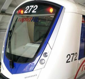 Bombardier INNOVIA Metro 300 trains for the Kelana Jaya Light Rail Transit (LRT) Line in Malaysia (credit: Bombardier)