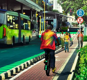 Bus rapid transit features put into pilot projects on the streets