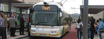 Castellon segregated busway