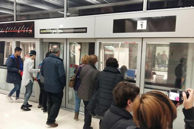 Barcelona's extended driverless metro enters operation