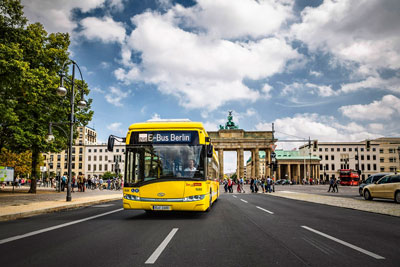 Berlin introduces world's first wirelessly-charged electric bus in a capital city