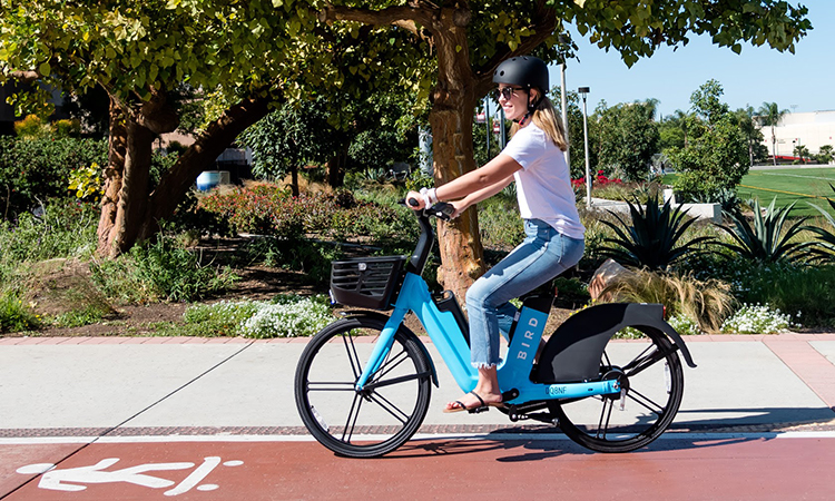 Bird launches bike share programme in San Diego and Ontario