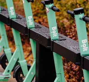 Bolt launches first scooter charging docks in Europe