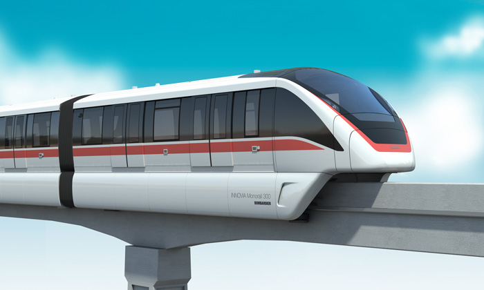 Bombardier's Chinese joint venture enters the China monorail market