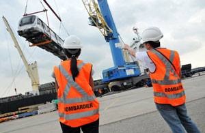 Singapore DTL project team ensuring that Bombardier trains are delivered on time