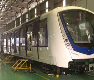 Bombardier introduces INNOVIA Metro 300 train for Kuala Lumpur