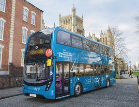Bristol welcomes pioneering electric buses