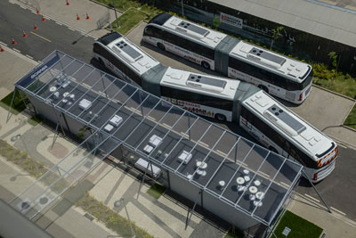 Bus Rapid Transit Mega Bus revealed