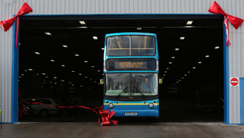 New bus depot for Durham