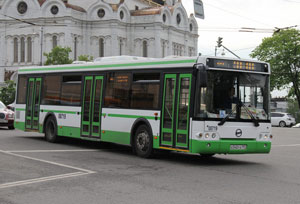 Bus with ZF technology