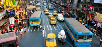Effective social distancing virtually impossible given size of India's existing bus fleet