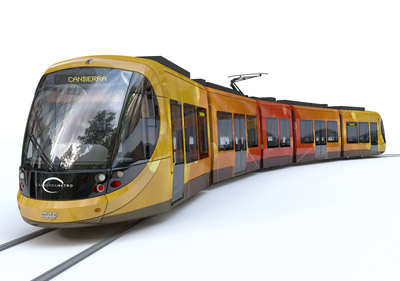 CAF awarded supply contract for Camberra Light Rail Vehicles