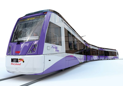 CAF to supply 26 LRVs for Maryland Purple Line Project