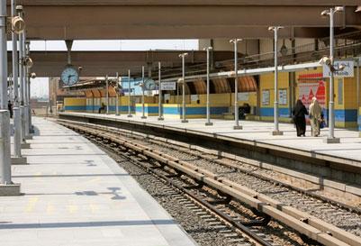 Cairo metro station
