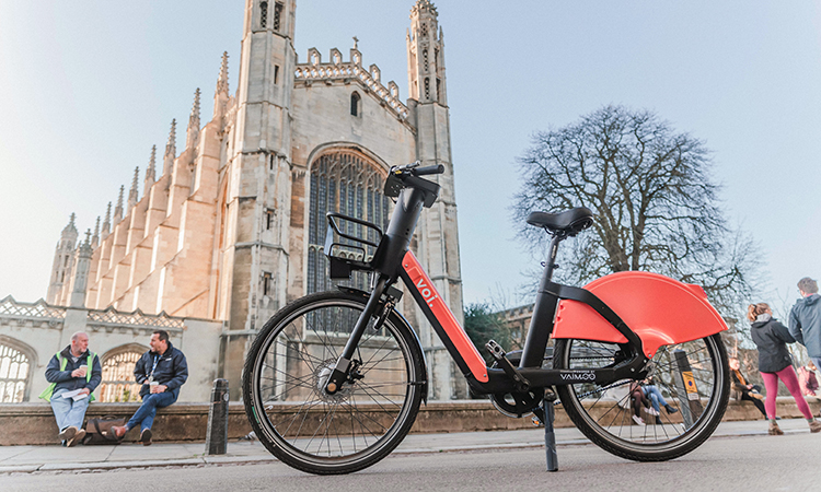 Voi e-bike in Cambridge