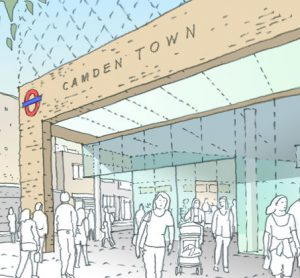 Modernisation plans for Camden Town Tube station proved very popular