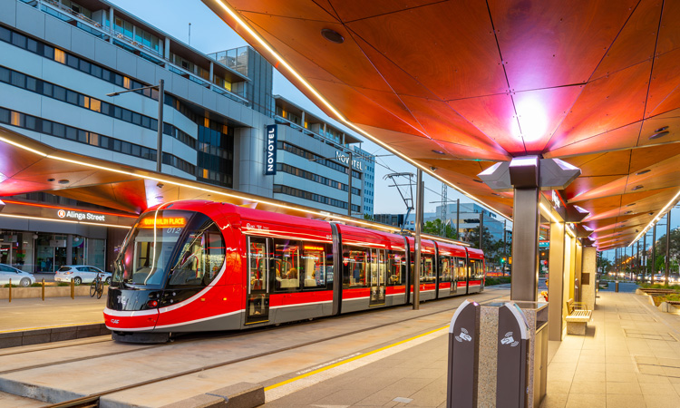 Highest week of public transport use recorded in Canberra