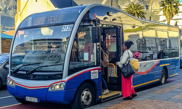Cape Town's public transit network suffers from fragmentation, but utilising big data can help to close the gap between services