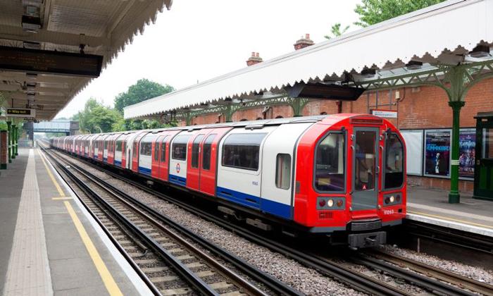 Central line trains