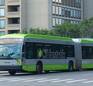 Connecticut DOT CTfastrak BRT bus