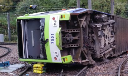 RAIB issues interim report on fatal Croydon tram derailment
