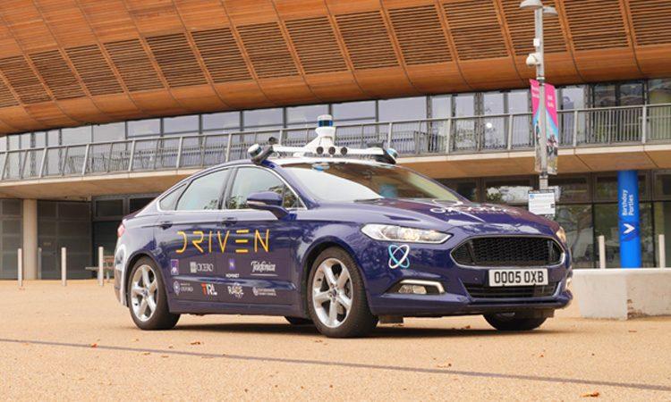 DRIVEN project autonomous car in London