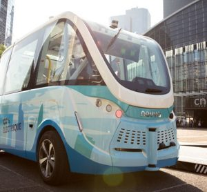 Autonomous shuttle service trial begins in Paris