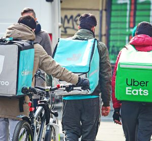 Who's lookingout for delivery riders anddrivers?