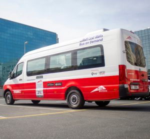 Dubai RTA Bus On-Demand service Mercedes Sprinter