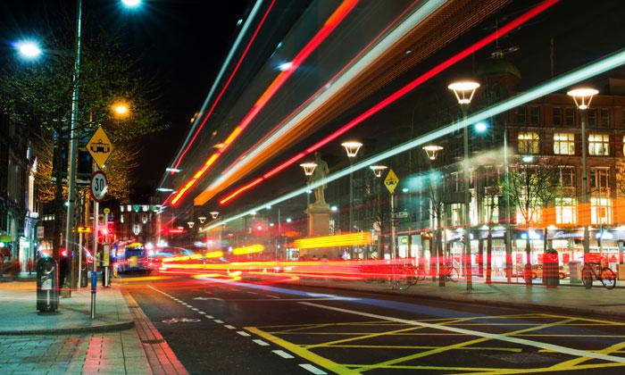 Dublin bus network report
