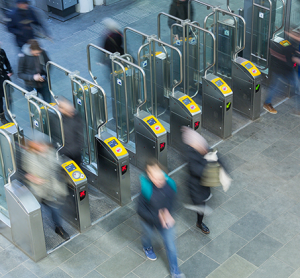 Arcontia contactless smart card readers used in Nautiz PDAs for Dutch Railways