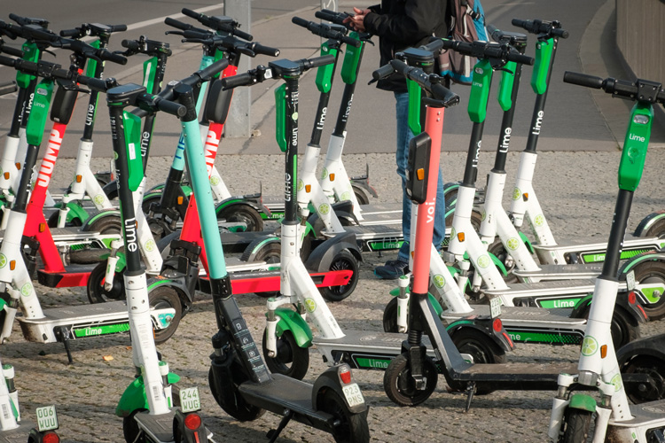 Shared e-scooters to be tested across UK