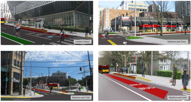SDOT receives $59.9 million grant for Madison Street Bus Rapid Transit