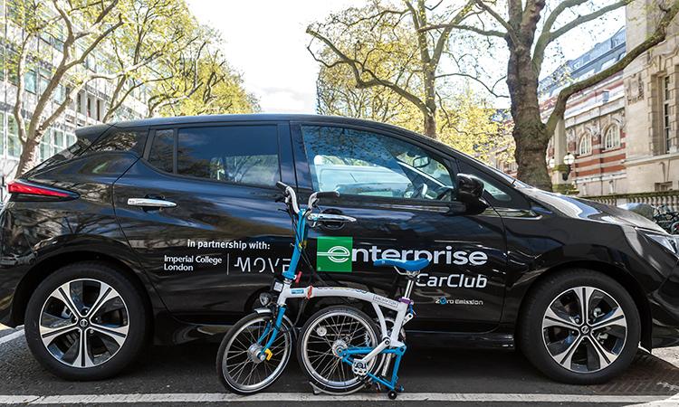 Enterprise smart mobility hub