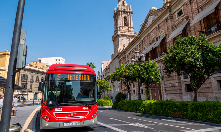 EMT Valencia launches cashless mobile ticketing solution