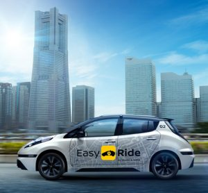 Nissan 'robo-taxi' taking to Japanese roads in March
